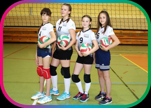 Trójki:  Zuzanna Włodyka, Oliwia Złoto, Karolina Potwora, Iga Maruszczak